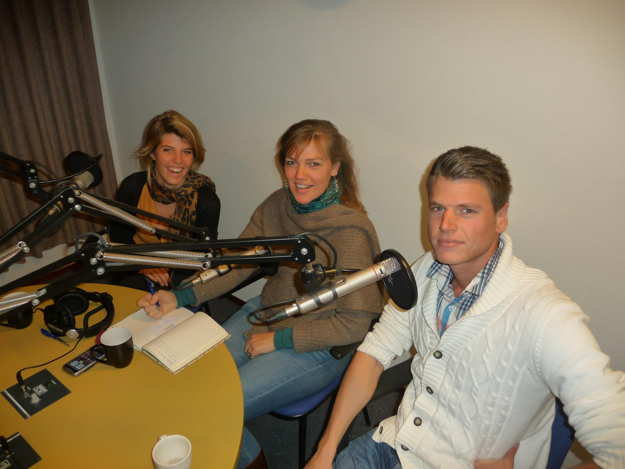 In the media - radio amsterdam